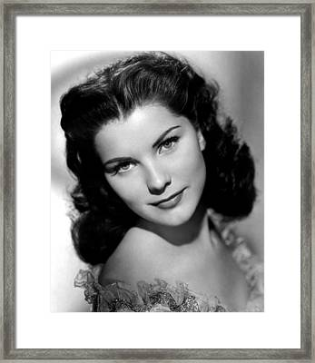 Anne Of The Indies, Debra Paget, 1951 Framed Print by Everett