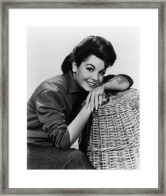 Annette Funicello, Ca. Early 1960s Framed Print by Everett