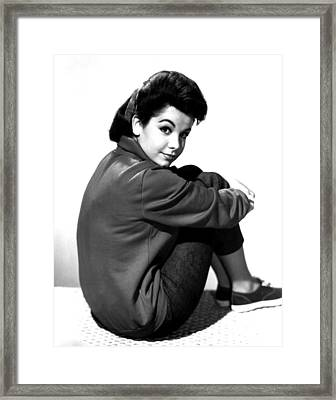 Annette Funicello, Portrait Framed Print by Everett