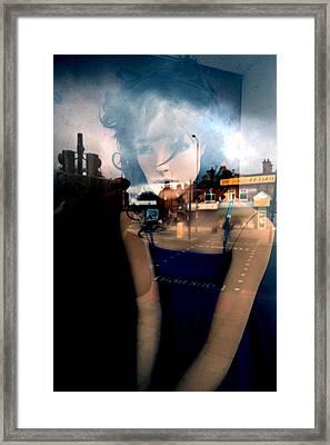 Annette Framed Print by Jez C Self