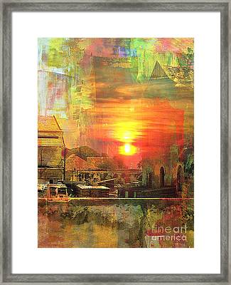 Another Day In Poverty Framed Print by Fania Simon