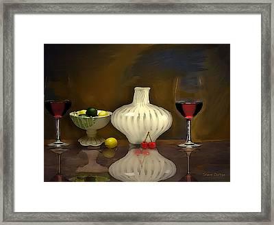 Another Still Life Framed Print by Stevn Dutton