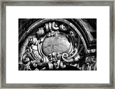 Ansonia Building Detail 13 Framed Print by Val Black Russian Tourchin