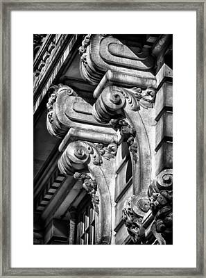 Ansonia Building Detail 18 Framed Print by Val Black Russian Tourchin