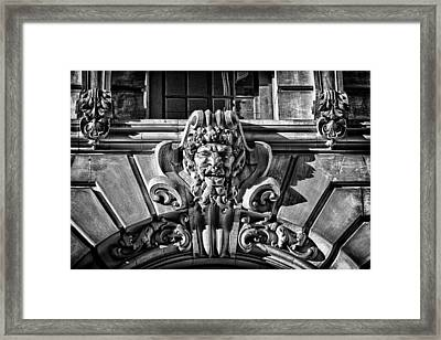 Ansonia Building Detail 3 Framed Print by Val Black Russian Tourchin
