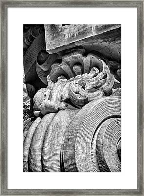 Ansonia Building Detail 31 Framed Print by Val Black Russian Tourchin