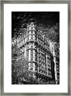 Ansonia Building Detail 32 Framed Print by Val Black Russian Tourchin