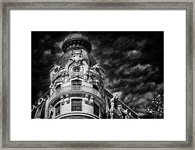 Ansonia Building Detail 33 Framed Print by Val Black Russian Tourchin