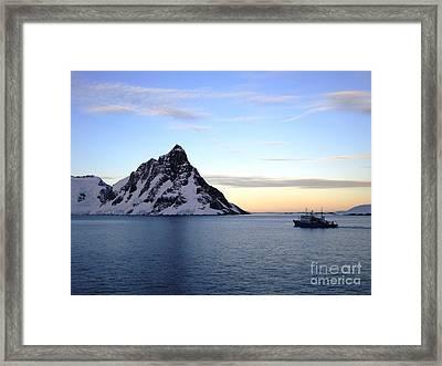 Antarctica Framed Print by Karen Kean