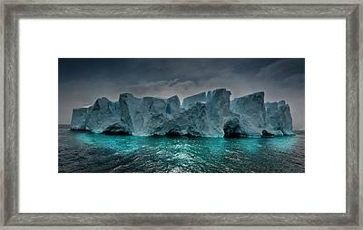 Antarctica Framed Print by Michael Leggero