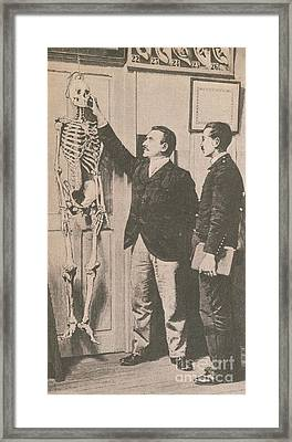 Anthropometry Framed Print by Photo Researchers