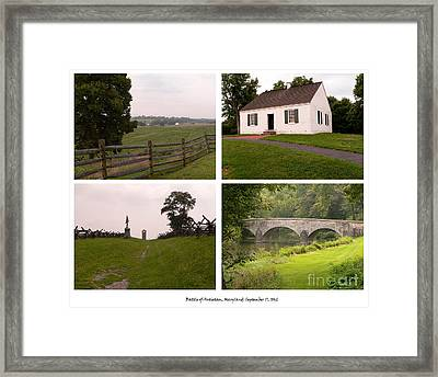 Antietam Maryland - September 17 - 1862 Framed Print by David Bearden