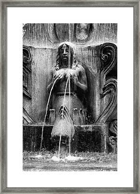 Antigua Mermaid Framed Print by Tom Bell