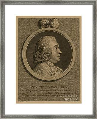 Antoine Deparcieux Framed Print by Granger