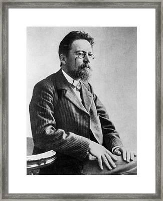 Anton Chekhov, 1901 Framed Print by Everett