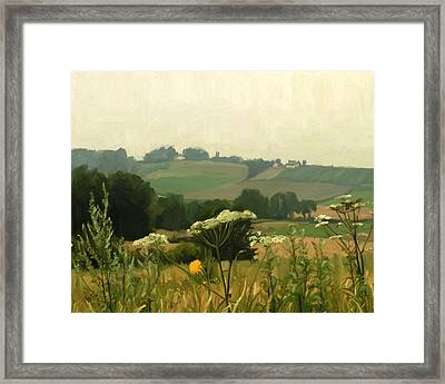 Apostelhoeve In The Jeker Valley Framed Print by Nop Briex