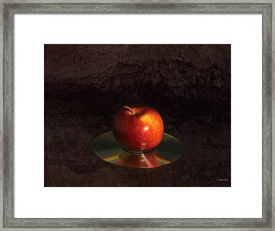 Apple Framed Print by Peter Chilelli