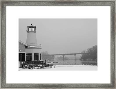 Appleton Yacht Club Framed Print by Joel Witmeyer