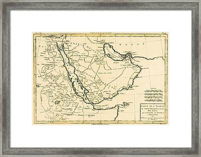 Arabia Framed Print by Guillaume Raynal