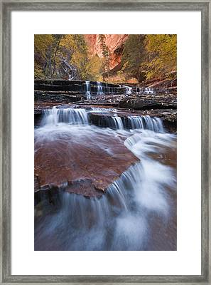Arch Angel Falls Framed Print by Joseph Rossbach
