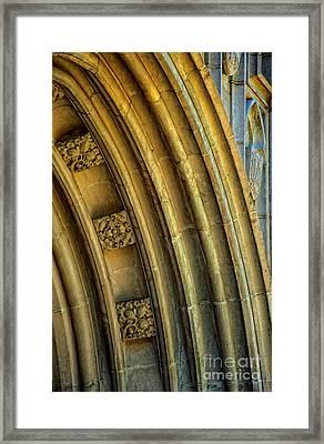 Arch Framed Print by Kathleen K Parker