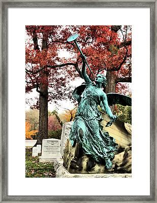 Archangel Gabriel Framed Print by JC Findley