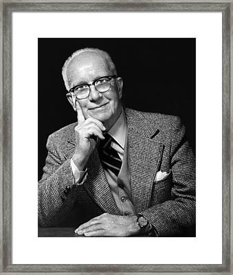 Architect Buckminster Fuller Ca. Early Framed Print by Everett