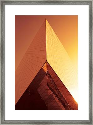Architecture 3001 Framed Print by Falko Follert