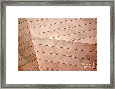 Architecture Lines Framed Print by Carlos Caetano