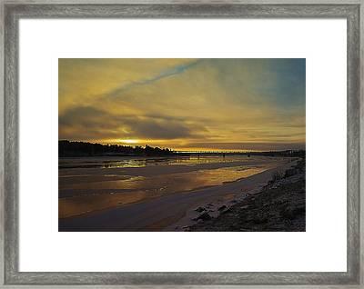 Arctic Sunrise Framed Print by Stephanie Benjamin