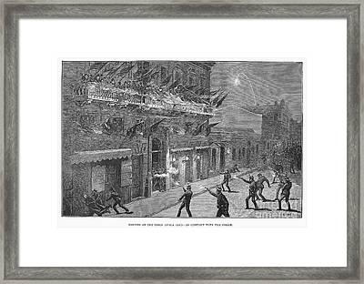 Argentina: Election, 1892 Framed Print by Granger