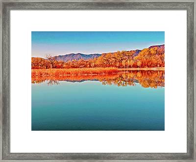 Arizona Dead Horse State Park Framed Print by Bob and Nadine Johnston