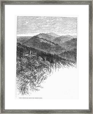 Arkansas: Mountains, 1878 Framed Print by Granger