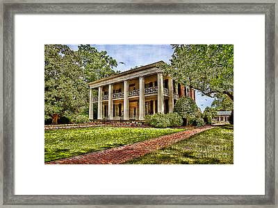 Arlington House Framed Print by Lianne Schneider