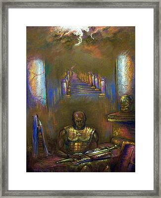Armor Of God Framed Print by Tommy  Winn