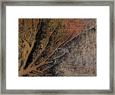 Arms Of Life Framed Print by Tim Allen