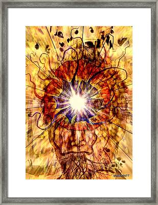 Arouse The Need To Connection With The Unit Framed Print by Paulo Zerbato
