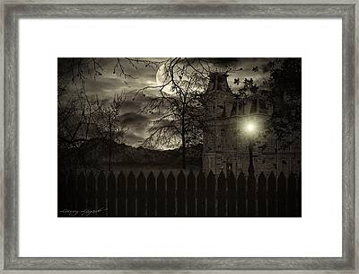 Arrival Framed Print by Lourry Legarde