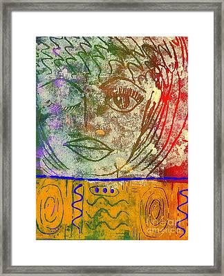 Art   Always Remember Truth Framed Print by Angela L Walker