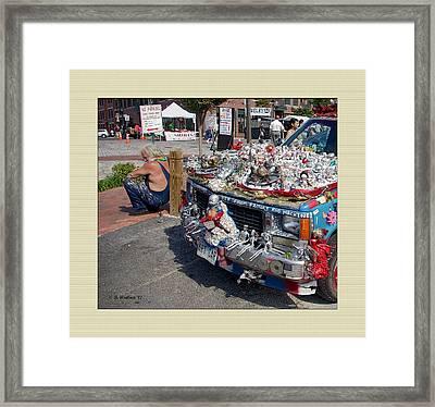Art Car Framed Print by Brian Wallace