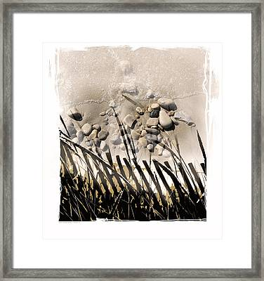 Art In The Sand Series 2 Framed Print by Bob Salo