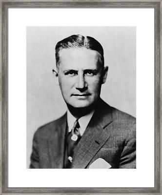 Arthur Hays Sulzberger 1891-1968 Framed Print by Everett