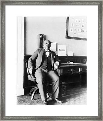 Arthur Simmons, African American White Framed Print by Everett