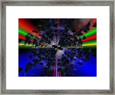 Artifacts Framed Print by Tim Allen