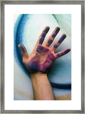 Artist Hand Framed Print by Garry Gay