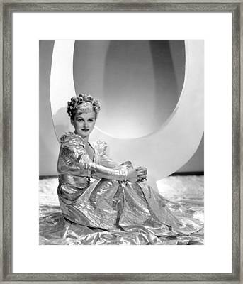 Artists And Models Abroad, Joan Bennett Framed Print by Everett