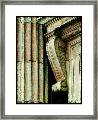 Artsy Elements Framed Print by Debbie Portwood