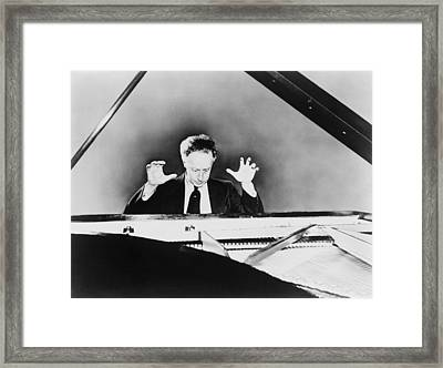 Artur Rubinstein 1887-1982, A Grand Framed Print by Everett
