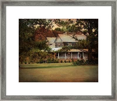 As Evening Falls Framed Print by Jai Johnson