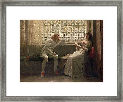 'as You Like It' Framed Print by Charles C Seton
